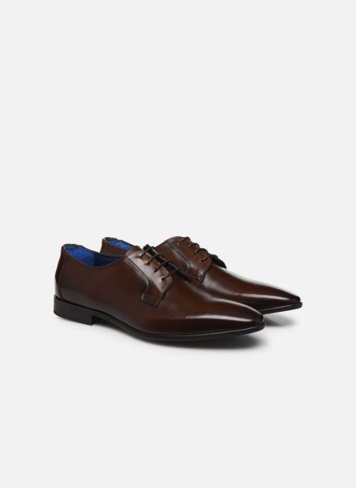 Chaussures à lacets Azzaro VICHOR Marron vue 3/4
