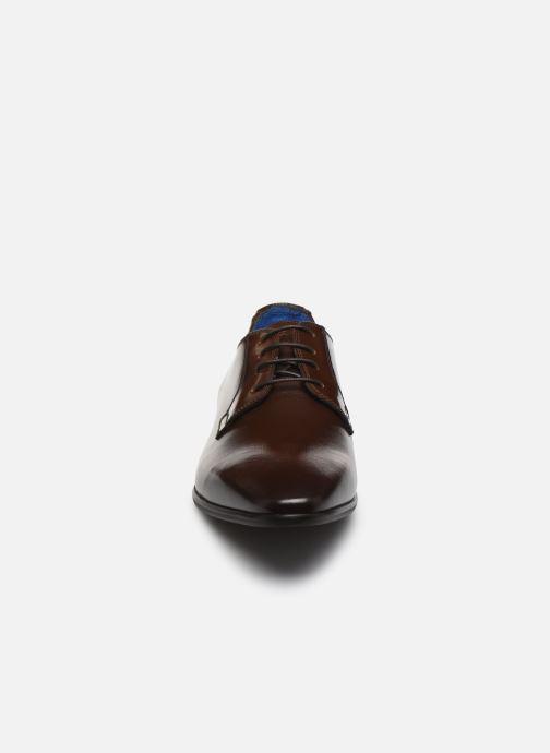 Chaussures à lacets Azzaro VICHOR Marron vue portées chaussures