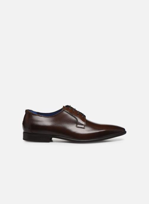 Chaussures à lacets Azzaro VICHOR Marron vue derrière