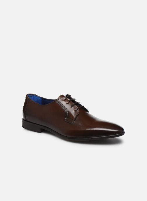 Chaussures à lacets Azzaro VICHOR Marron vue détail/paire