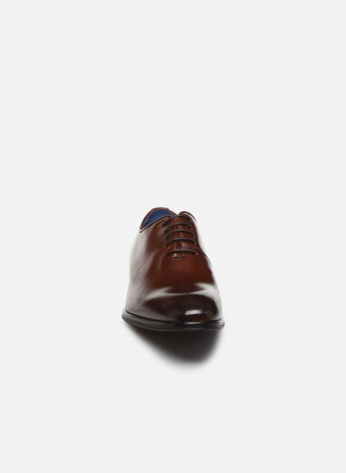 Chaussures à lacets Azzaro WAYERI Marron vue portées chaussures