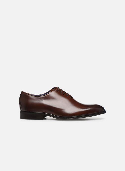 Chaussures à lacets Azzaro WAYERI Marron vue derrière