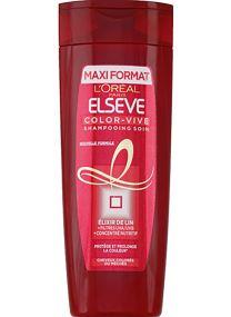 Shampoing soin cheveux colorés ou méchés
