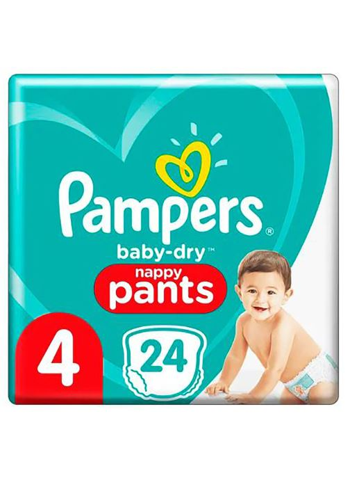 Pampers Baby Dry T4X24