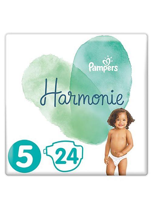 Produits d'entretien Pampers Pampers Harmonie T5 Geant 24X Blanc vue détail/paire