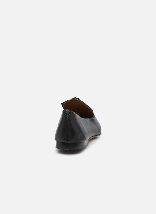 Mocassins Minelli F61 327 Zwart rechts