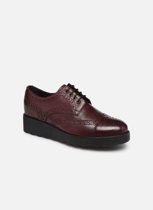 Chaussures à lacets Minelli F61 341 Bordeaux vue détail/paire