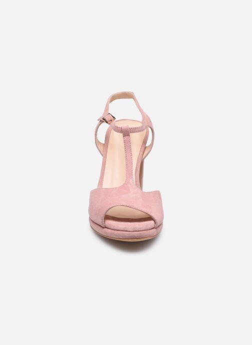Sandaler Minelli F93 222/VEL Pink se skoene på