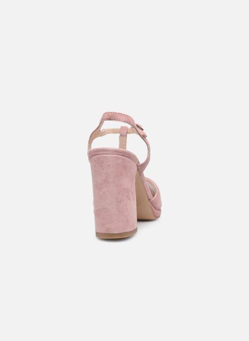 Sandalen Minelli F93 222/VEL Roze rechts