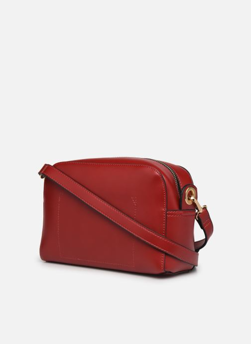 Bolsos de mano Minelli MS 319 Rojo vista lateral derecha