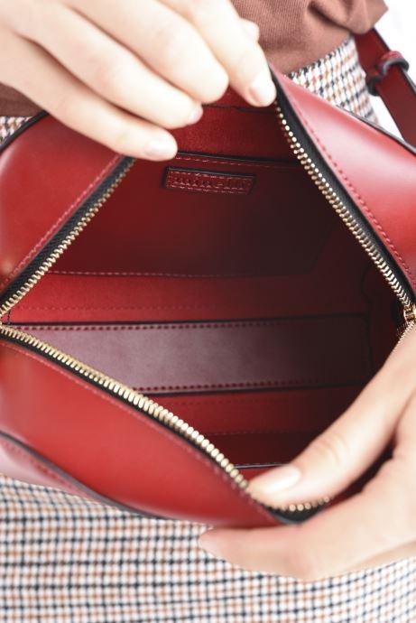 Bolsos de mano Minelli MS 319 Rojo vistra trasera