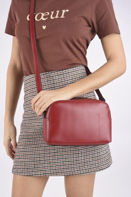 Bolsos de mano Minelli MS 319 Rojo vista de abajo
