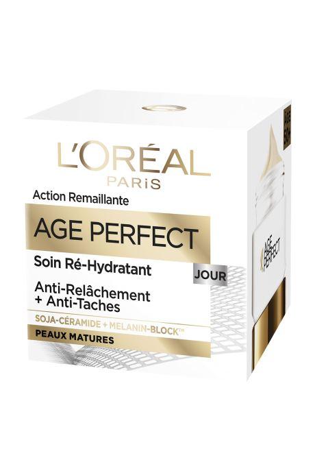Produits d'entretien L'Oréal Paris - Age Perfect - Dermo Expertise Age Perfect Jour Blanc vue détail/paire