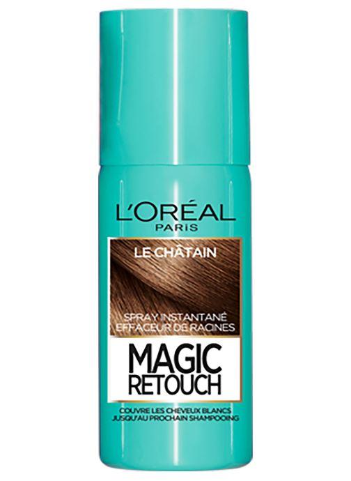 Produits d'entretien L'Oréal Paris - Magic Retouch Magic Retouch Châtain Blanc vue détail/paire