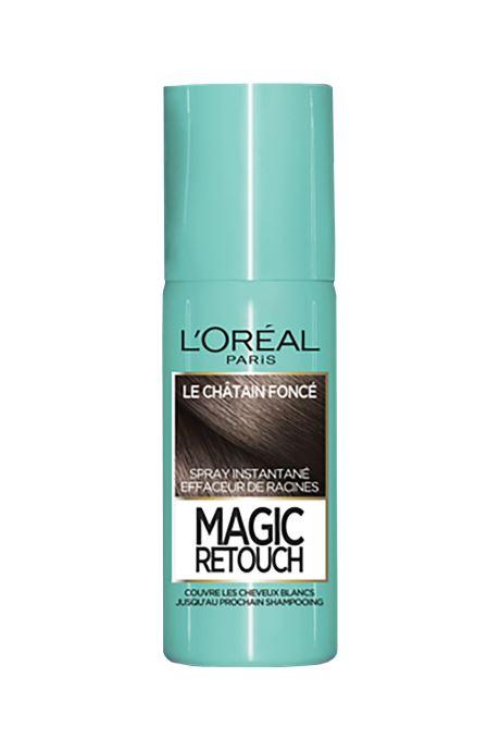 Produits d'entretien L'Oréal Paris - Magic Retouch Magic Retouch Châtain Foncé Blanc vue détail/paire