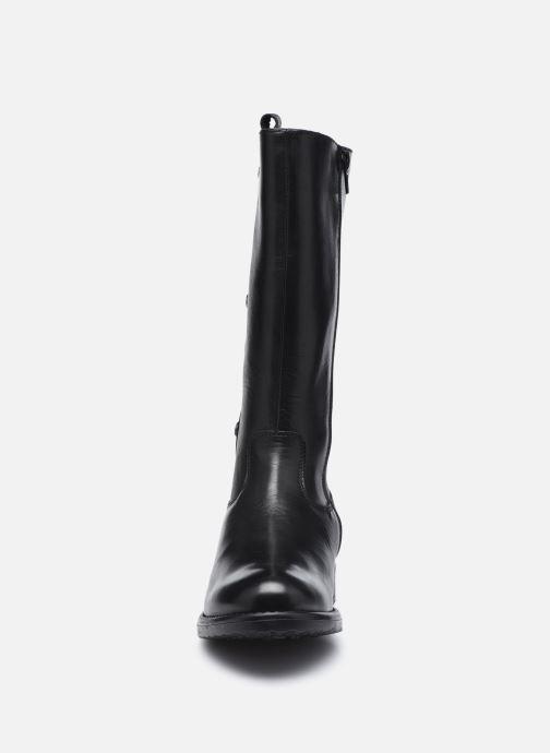 Bottes Rose et Martin REBECCA Noir vue portées chaussures