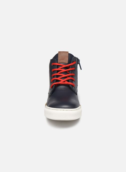 Sneakers Rose et Martin STEEVE LEATHER Blauw model