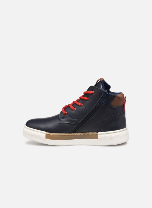 Sneakers Rose et Martin STEEVE LEATHER Blauw voorkant