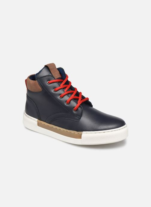 Sneakers Rose et Martin STEEVE LEATHER Blauw detail