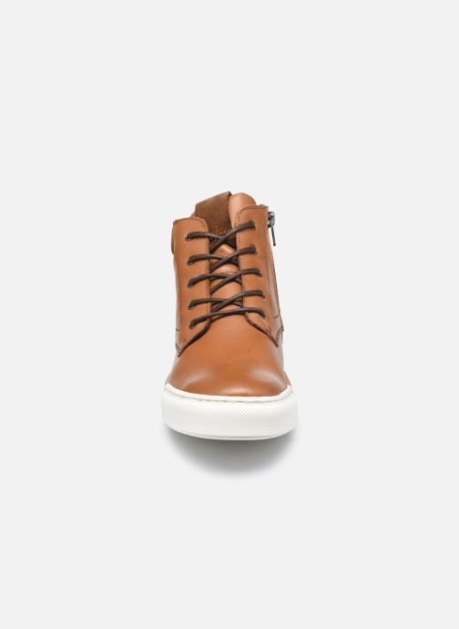 Sneakers Rose et Martin STEEVE LEATHER Bruin model