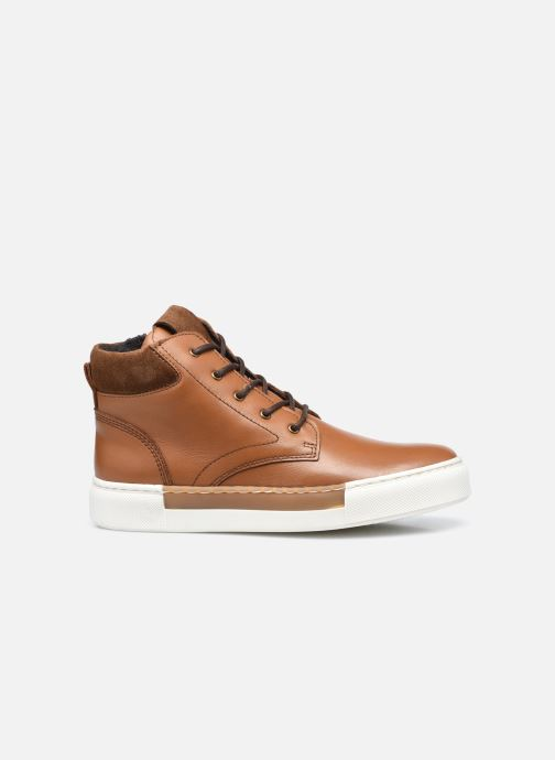 Sneakers Rose et Martin STEEVE LEATHER Bruin achterkant