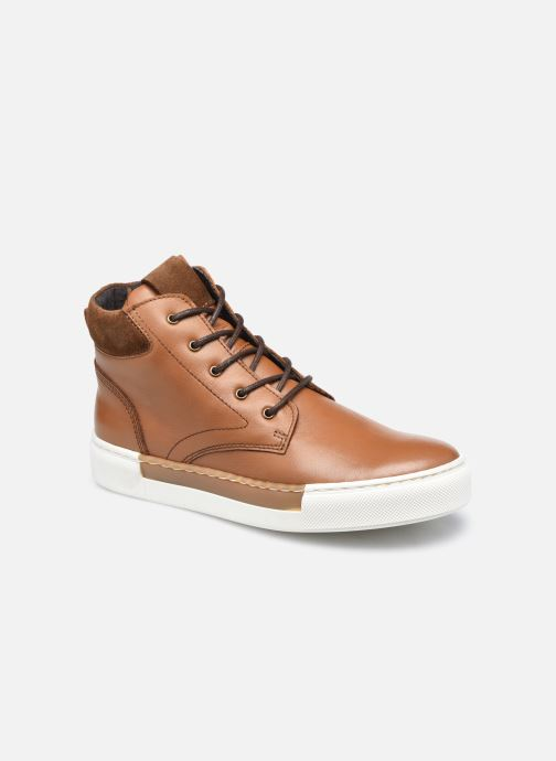Sneakers Rose et Martin STEEVE LEATHER Bruin detail