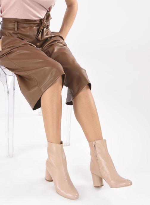 Stivaletti e tronchetti Made by SARENZA Urban Smooth Boots #2 Beige immagine dal basso