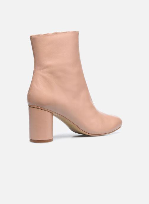 Stivaletti e tronchetti Made by SARENZA Urban Smooth Boots #2 Beige immagine frontale