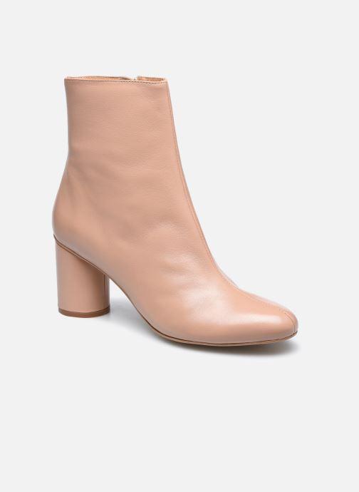 Stivaletti e tronchetti Made by SARENZA Urban Smooth Boots #2 Beige immagine destra