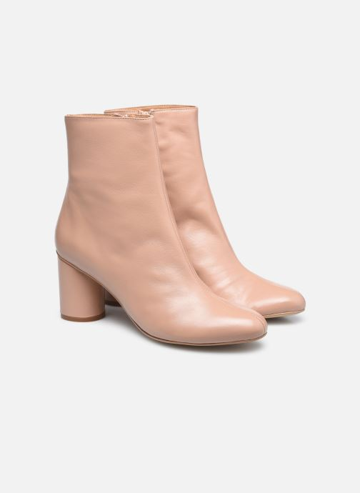 Stivaletti e tronchetti Made by SARENZA Urban Smooth Boots #2 Beige immagine posteriore