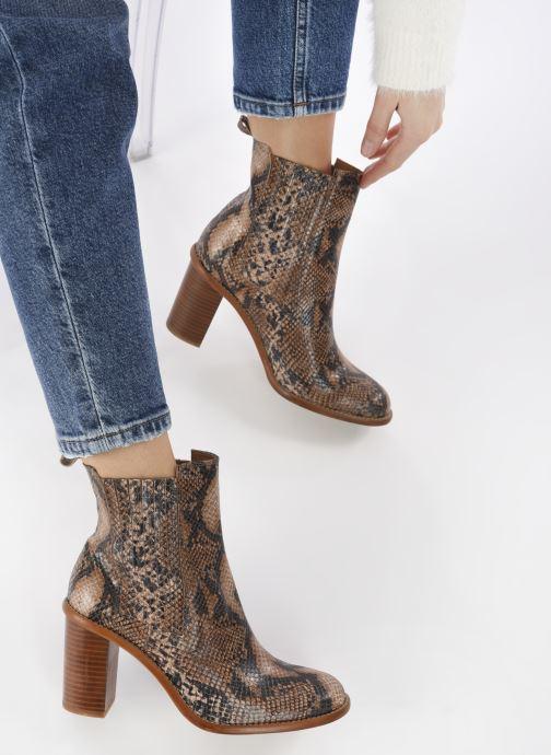 Stivaletti e tronchetti Made by SARENZA Sartorial Folk Boots #4 Beige immagine dal basso