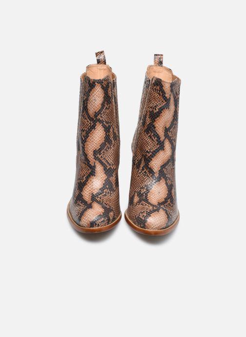 Stivaletti e tronchetti Made by SARENZA Sartorial Folk Boots #4 Beige modello indossato