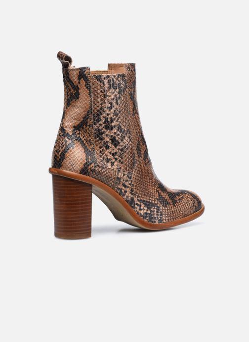 Bottines et boots Made by SARENZA Sartorial Folk Boots #4 Beige vue face