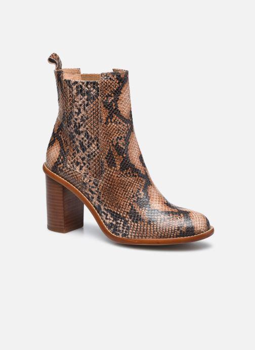 Bottines et boots Made by SARENZA Sartorial Folk Boots #4 Beige vue droite