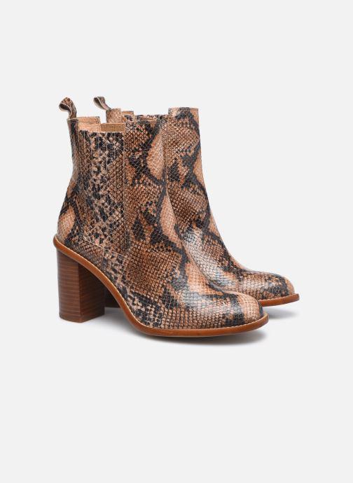 Bottines et boots Made by SARENZA Sartorial Folk Boots #4 Beige vue derrière
