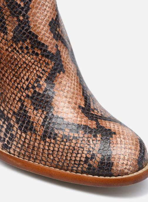 Bottines et boots Made by SARENZA Sartorial Folk Boots #4 Beige vue gauche