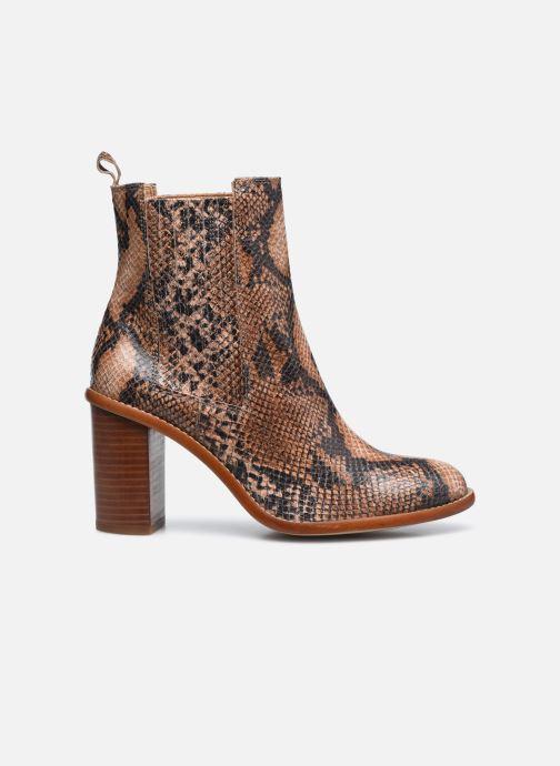 Bottines et boots Made by SARENZA Sartorial Folk Boots #4 Beige vue détail/paire