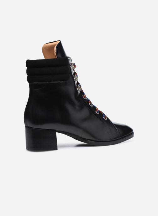 Botines  Made by SARENZA Sartorial Folk Boots #6 Negro vista de frente
