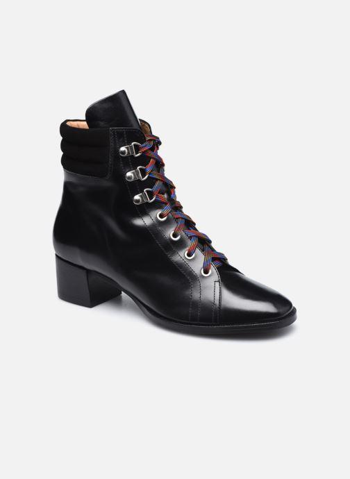 Botines  Made by SARENZA Sartorial Folk Boots #6 Negro vista lateral derecha