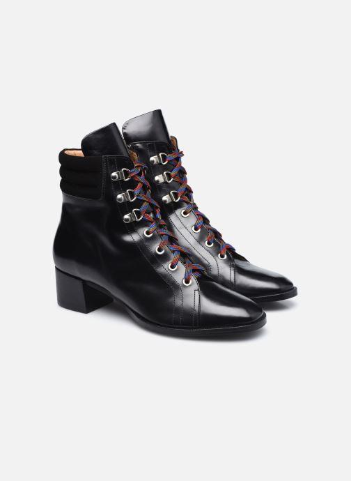 Stivaletti e tronchetti Made by SARENZA Sartorial Folk Boots #6 Nero immagine posteriore