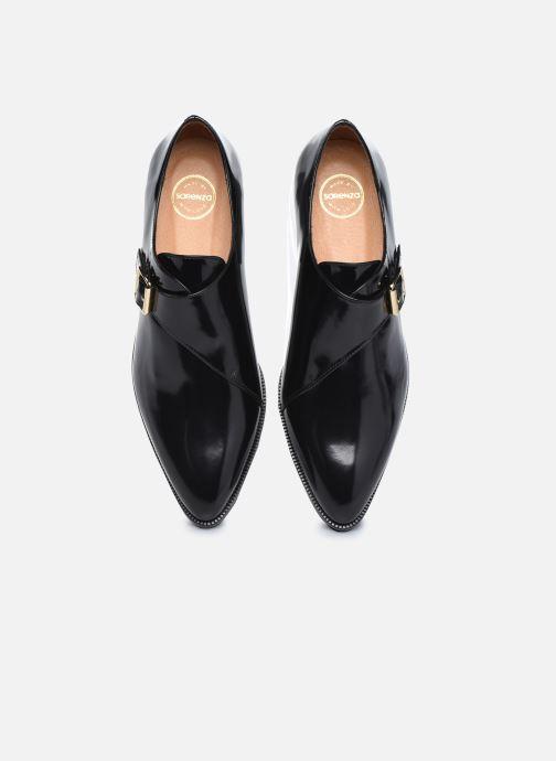 Schuhe mit Schnallen Made by SARENZA Urban Smooth Souliers #1 schwarz schuhe getragen