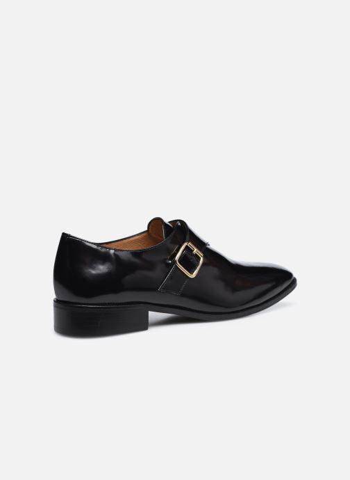 Schuhe mit Schnallen Made by SARENZA Urban Smooth Souliers #1 schwarz ansicht von vorne