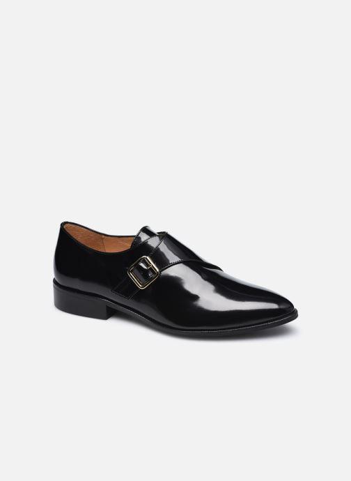 Schuhe mit Schnallen Made by SARENZA Urban Smooth Souliers #1 schwarz ansicht von rechts