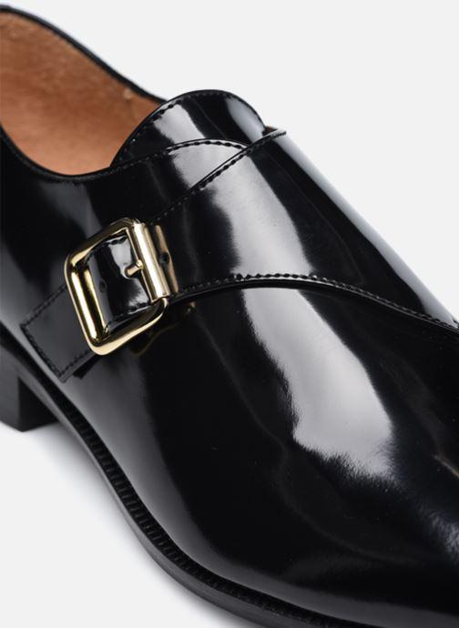 Schuhe mit Schnallen Made by SARENZA Urban Smooth Souliers #1 schwarz ansicht von links