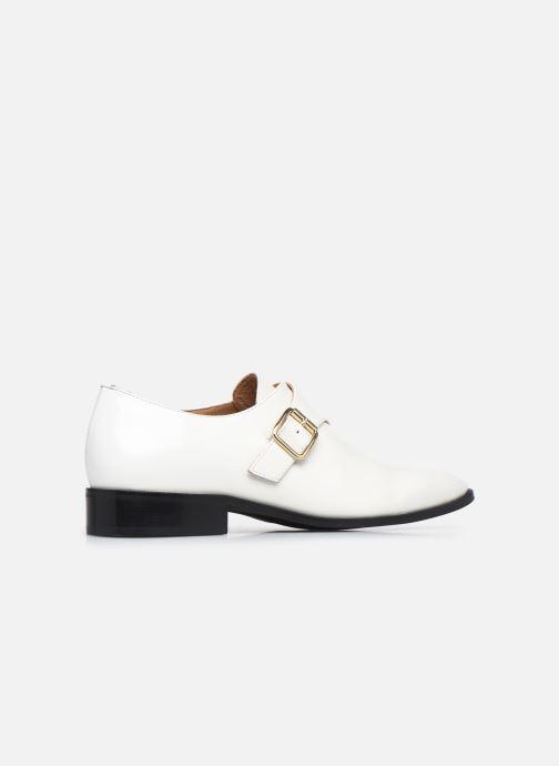 Zapato con hebilla Made by SARENZA Urban Smooth Souliers #1 Blanco vista de frente