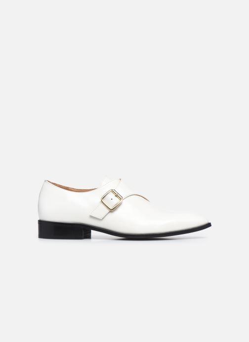 Chaussure à boucle Made by SARENZA Urban Smooth Souliers #1 Blanc vue détail/paire
