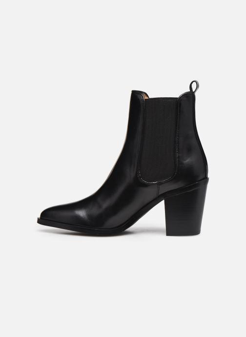 Bottines et boots Georgia Rose Tao Noir vue face