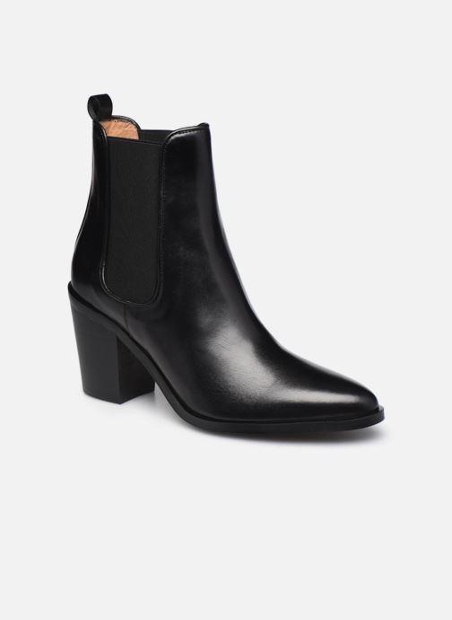 Bottines et boots Georgia Rose Tao Noir vue détail/paire