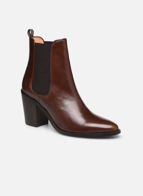 Stiefeletten & Boots Georgia Rose Tao braun detaillierte ansicht/modell
