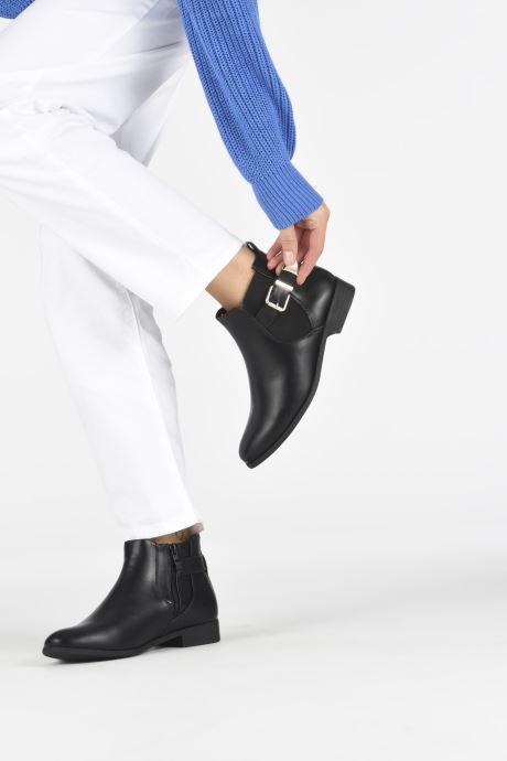 Stiefeletten & Boots I Love Shoes WOLUCIE schwarz ansicht von unten / tasche getragen